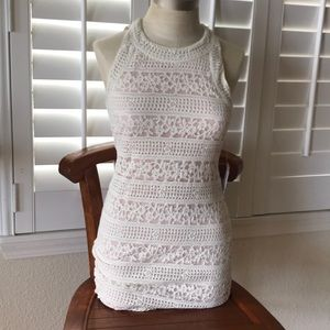 UO Lace Dress with Cutouts